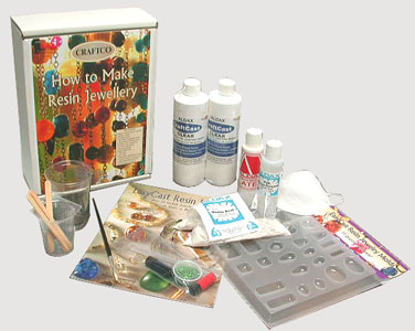 resin jewellery kit